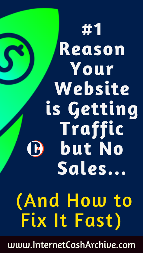 #1 Reason Your Website is Getting Traffic but No Sales (And How to Fix It)​